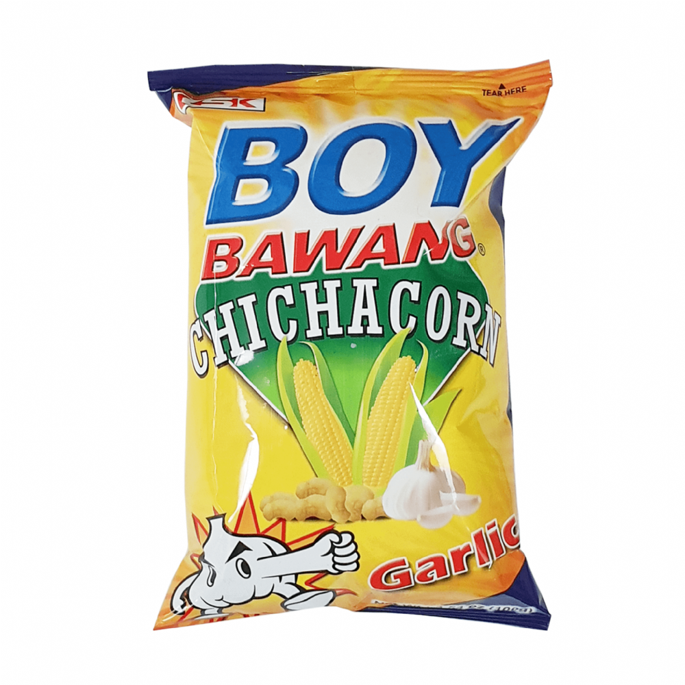 Boy Bawang Chichacorn Garlic 100g